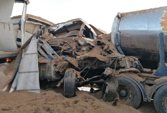 Massive pile-up crash kills one
