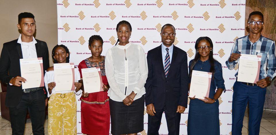 Namibian Grade 12 Bank students