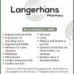 Langerhans Pharmacy – Vacancy