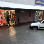 Oshikango businesses inundated with water