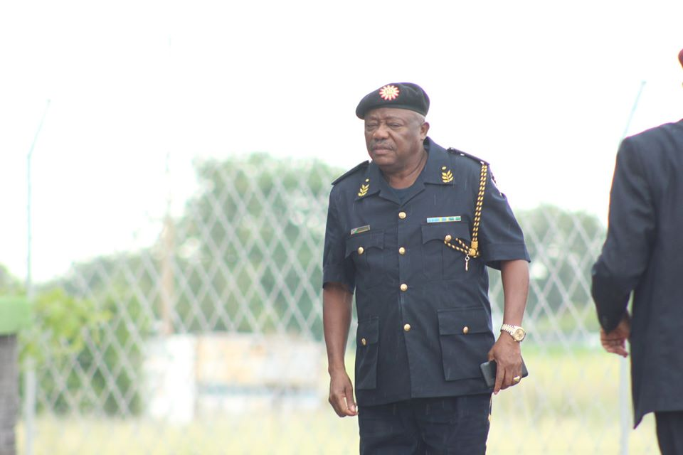 General Namibia Police Sebastian commanders