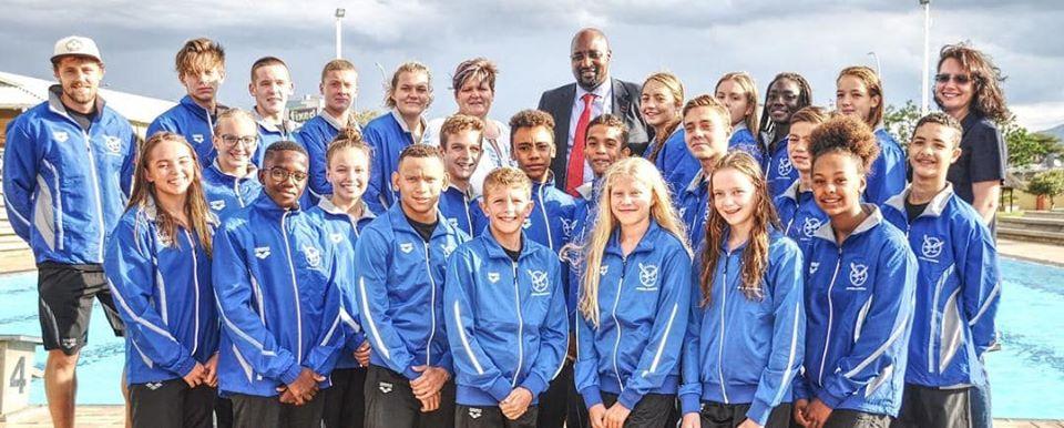 Namibian swimmers Gaborone Swimming Championships CANA Zone IV