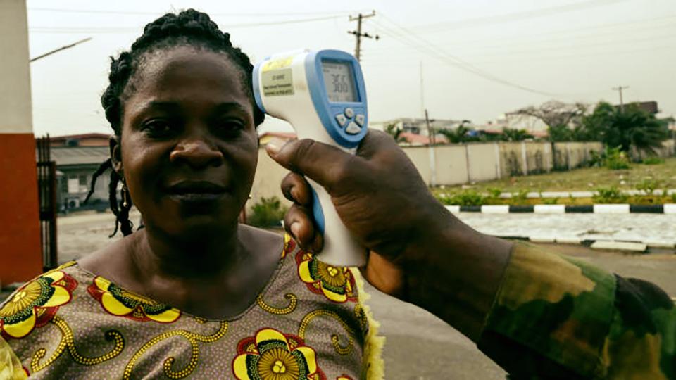 Coronavirus confirmed Nigeria Africa