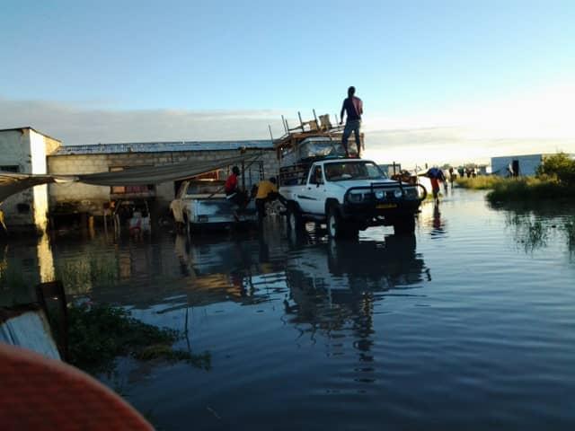 evacuated Oshakati emergency rescue services