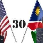 Trump congratulates Namibia