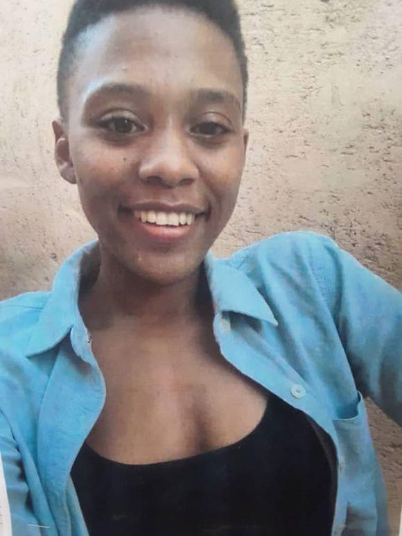 Namibian Police Erongo Region finding 21-year-old Shannon Daliki Kandari
