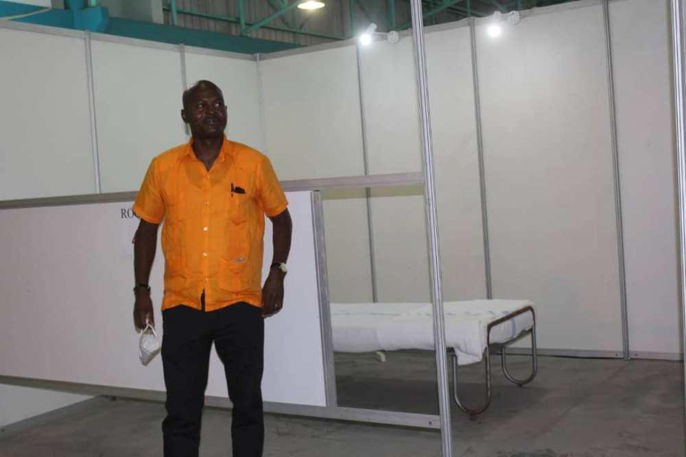 Oshana temporary hospital coronavirus