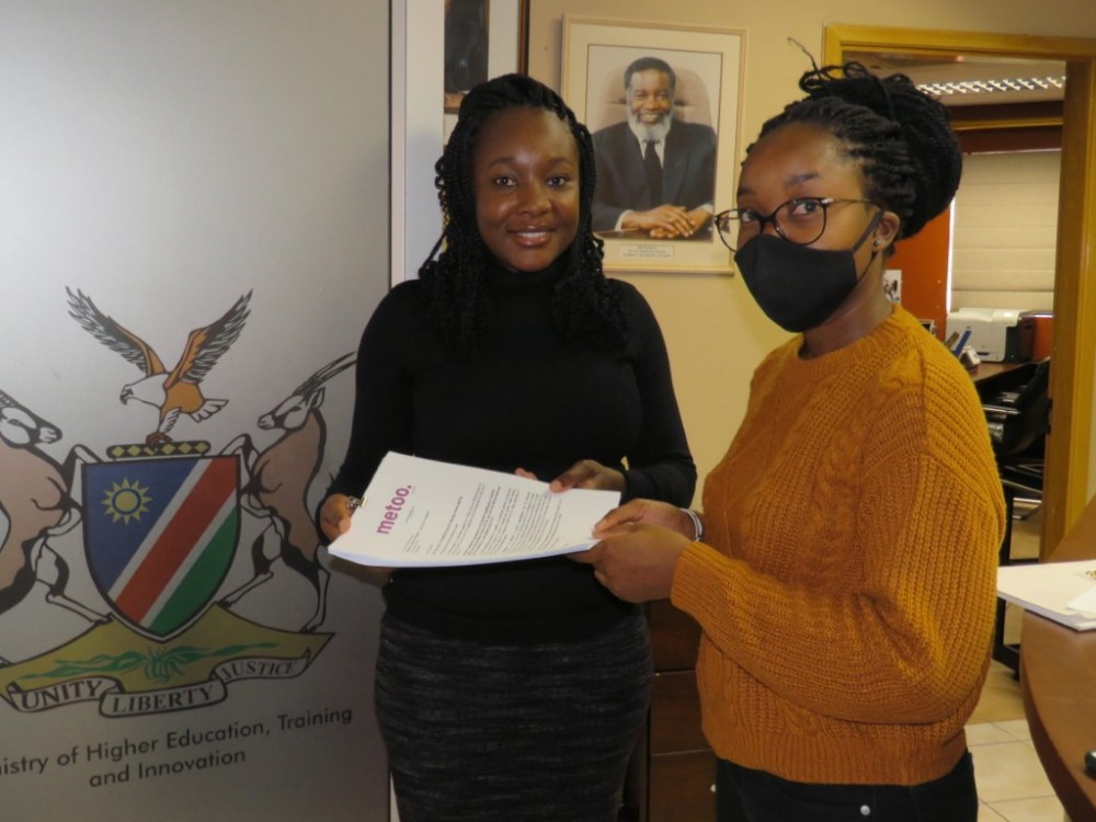 Petition immediate suspension Namibia Qualifications Authority NQA Franz Gertze City Police Spokesperson Fabia