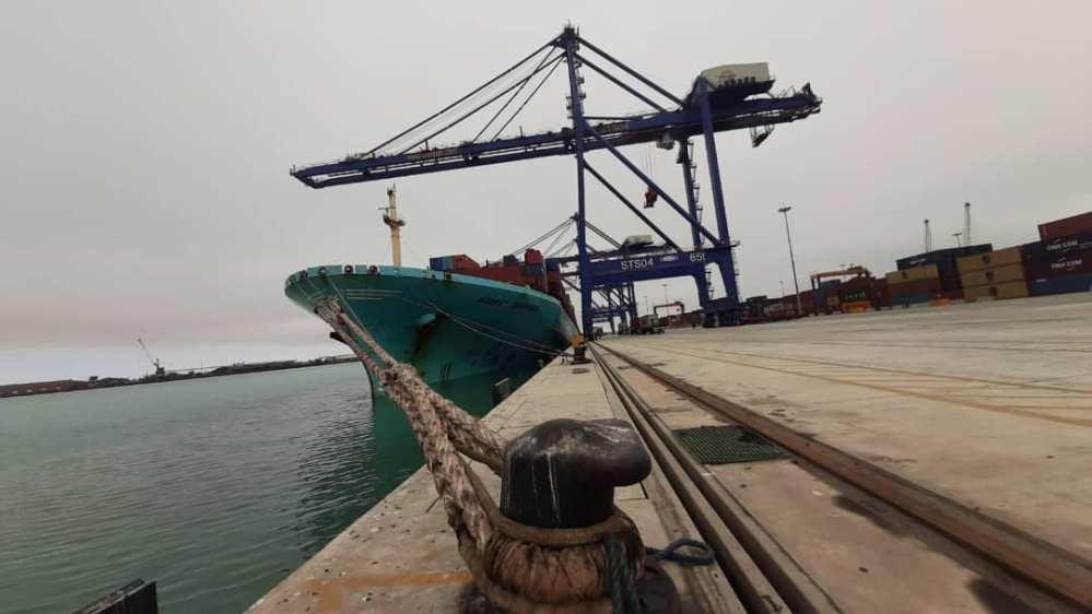 turnaround port cargo vessels guaranteed Namibian Ports Authority increase