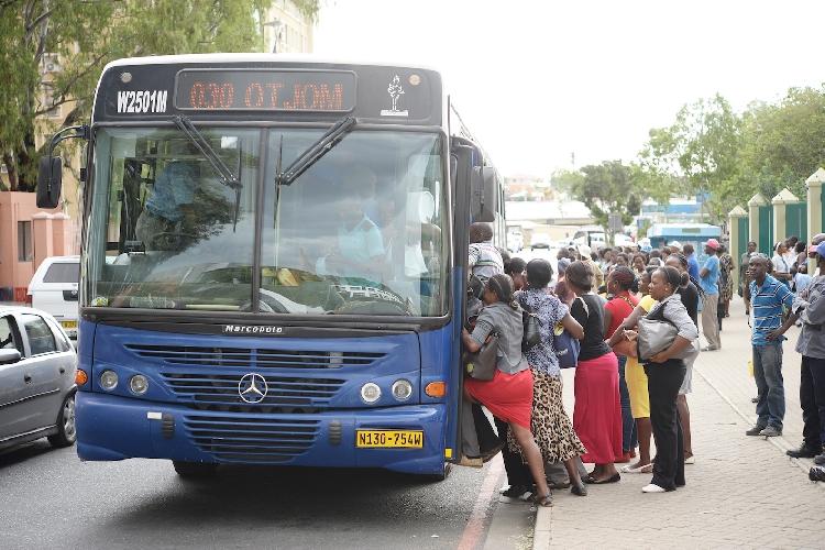 City Windhoek Bus Service health regulations curb spread COVID-19