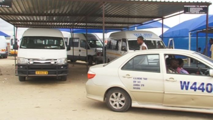 Taxi bus fares fees 15% Namibians pay transport