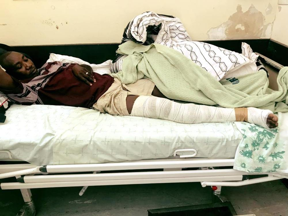 vendor Windhoek Havana Informal settlement registered case assault Namibian Police