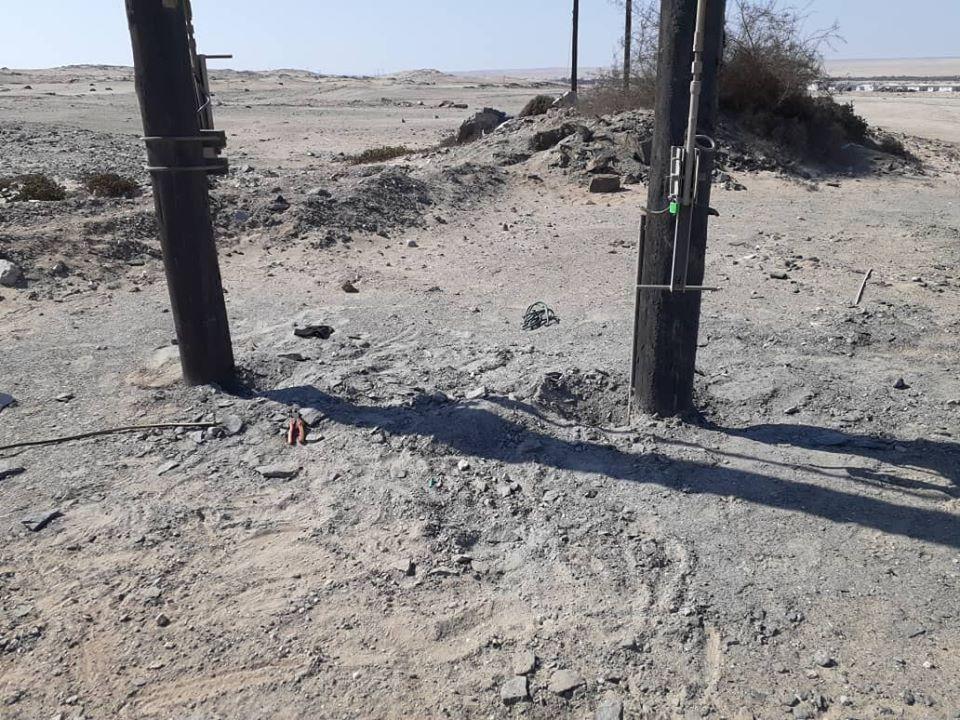 hospital Swakopmund burn wounds electrocution suspect