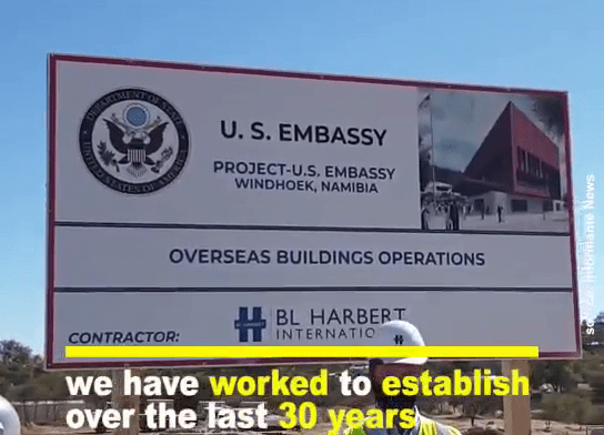 Construction of new American Embassy commences