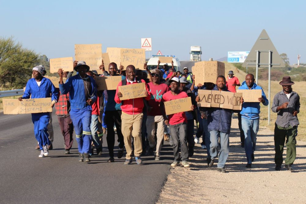 Namibia Employers Federation NEF employers carte blanché retrench workers