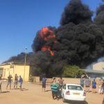 Fire destroys shop in Henties Bay