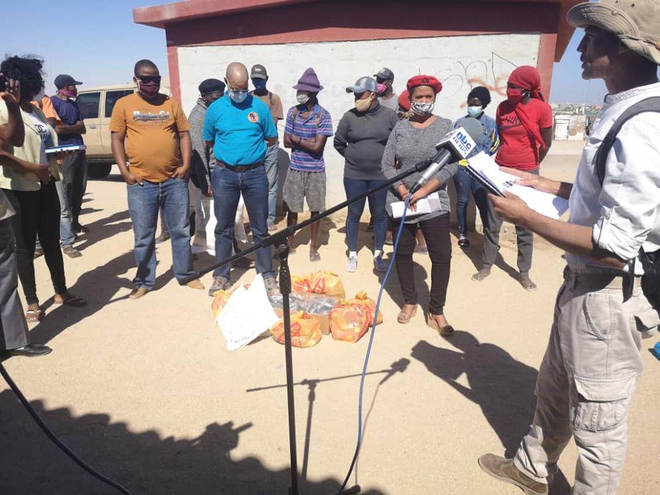 continued lockdown Swakopmund Walvis Bay State Emergency residents destitute