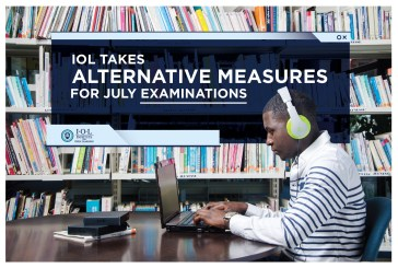 IOL TAKES ALTERNATIVE MEASURES FOR JULY EXAMINATIONS