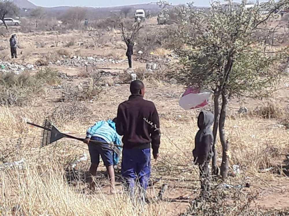 Okahandja landless people illegally occupy land belongs municipality Residents