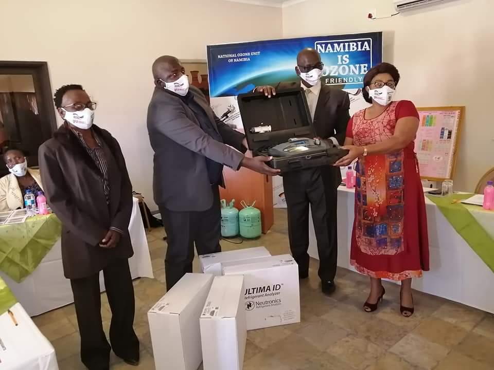 Namibia independently minimal illicit trade ozone depleting substances