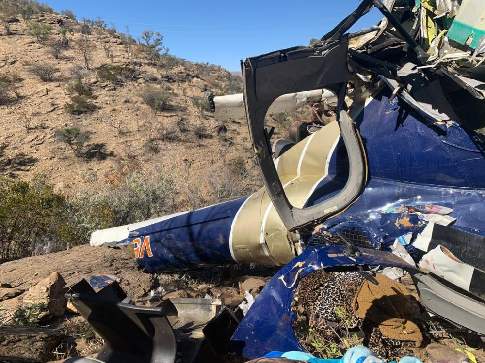 Jaco van Dyk business motor sports Grootfontein children survived helicopter crash Windhoek