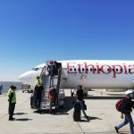 Namibia welcomes first international flight