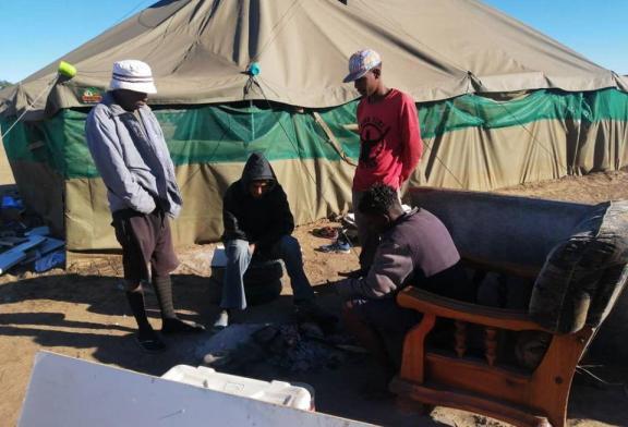 Namibians unite to help the homeless