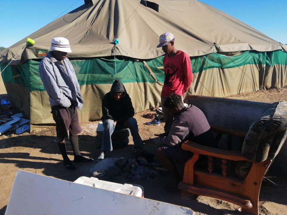 Namibians unite help homeless traffic phenomena homelessness Namibia MTC