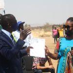 Okahandja residents receive land