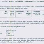 Settlement deadline for quota auction extended
