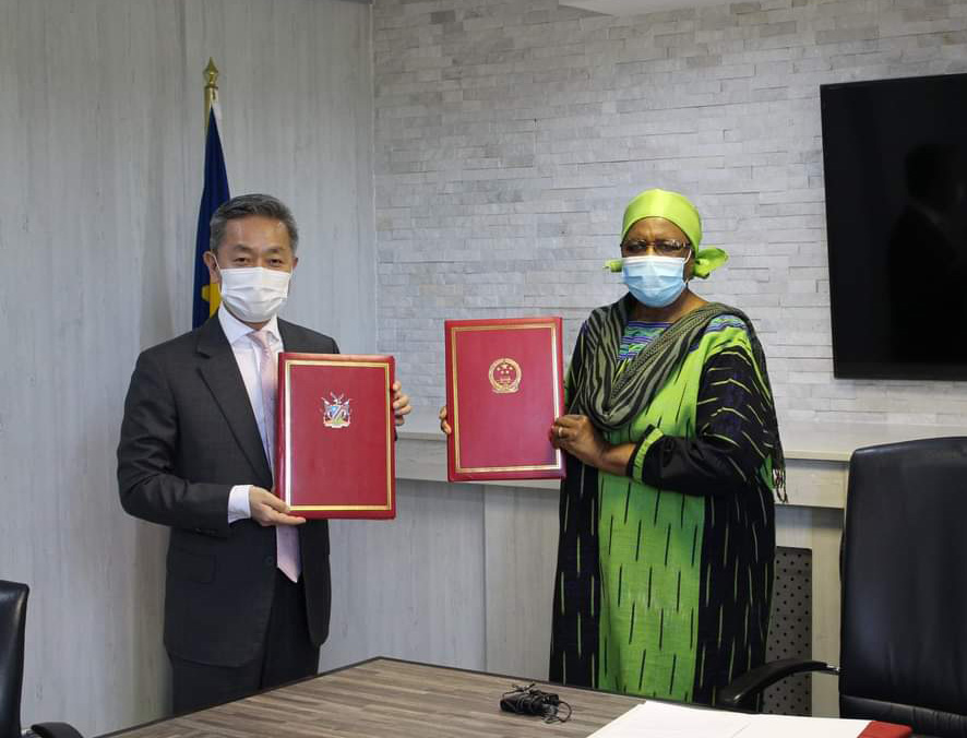 China spends N$52 million Nam fight COVID-19 Chinese Embassy anti-pandemic donated Chinese government