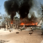 Indongo's homestead destroyed by fire