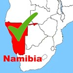 Namibia is off the danger list