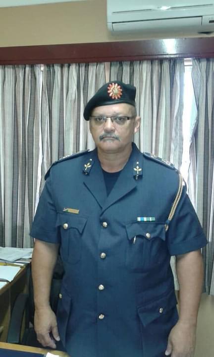 Theron bids NamPol farewell Commander Namibian Police Force Zambezi Region retired
