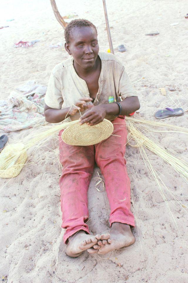 Woman blindness Faselinu Ndjolonima Ekolola informal settlement Eenhana