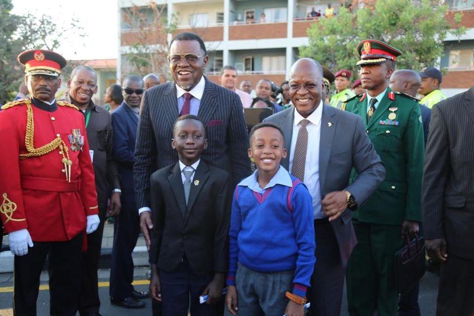 Geingob congratulates Magufuli re-election Tanzania Namibia