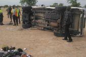 Man dies in road crash