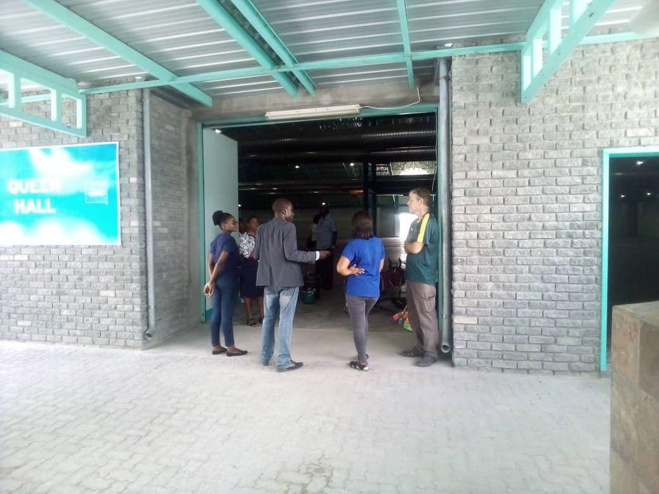 Ongwediva Town Council OTC operation Trade Fair Centre COVID-19