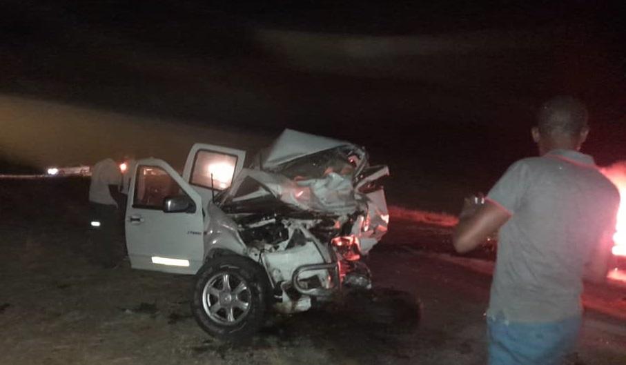 death horrific crash burned beyond recognition head-on collision minibus taxi