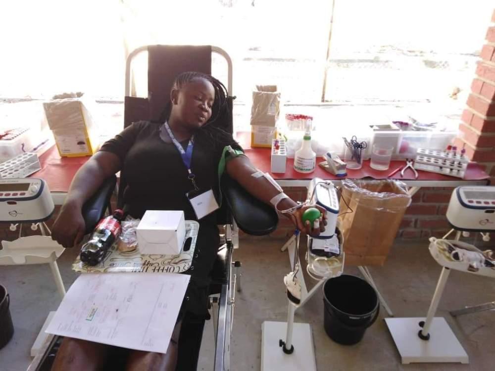 Blood Transfusion Service Namibia shortage donate blood