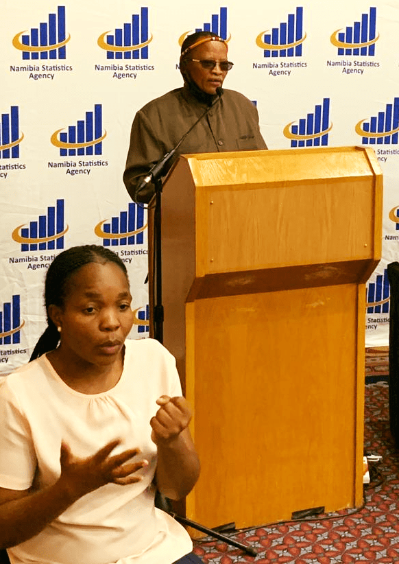 Namibia Statistics Agency launched standards report marginalized communities