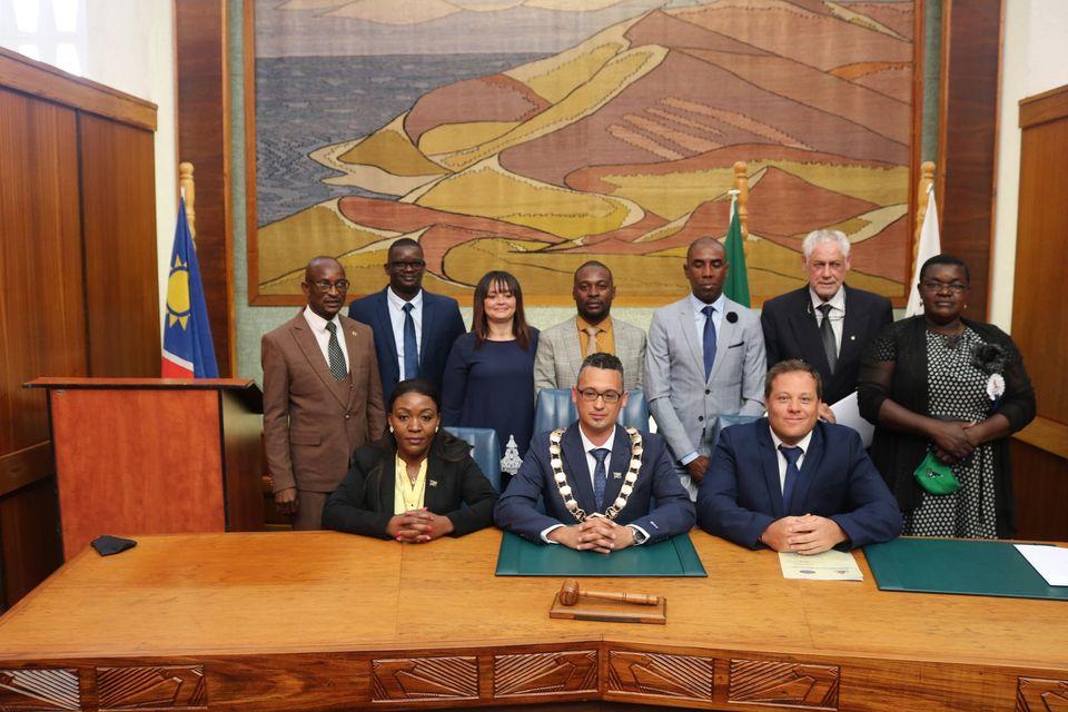 process swearing new town councils municipalities