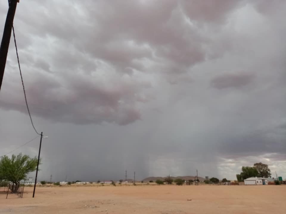 Rain rains eastern central Namibia storms Kavango east Zambezi