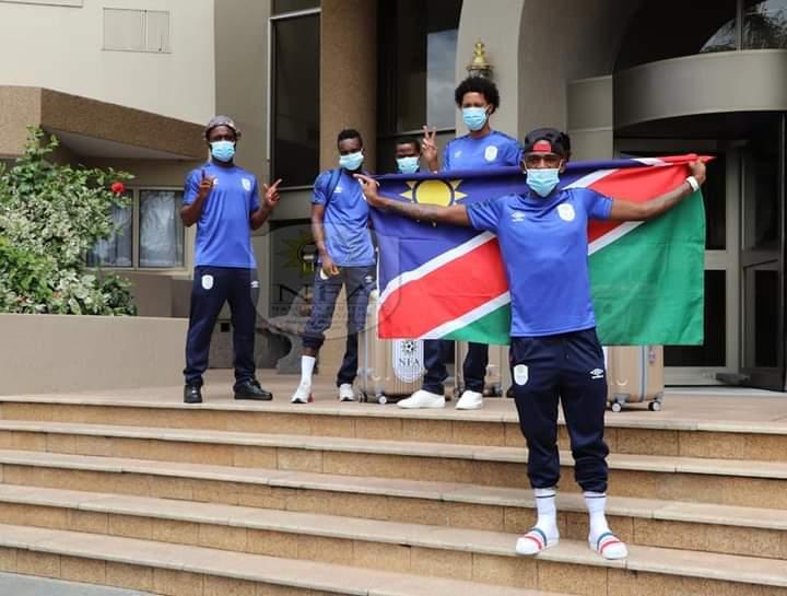 Brave Warriors CHAN finals national football team Namibia Zambia Guinea Tanzania
