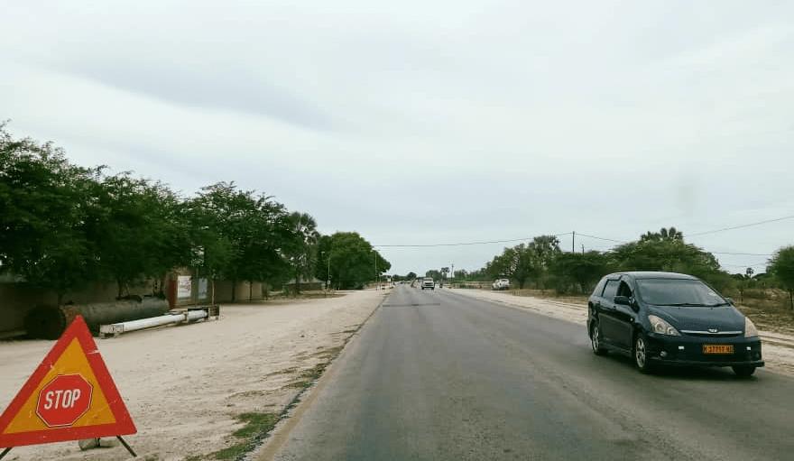 Namibian roads travellers curfew regulations