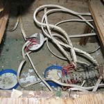 Electricity thief electrocuted
