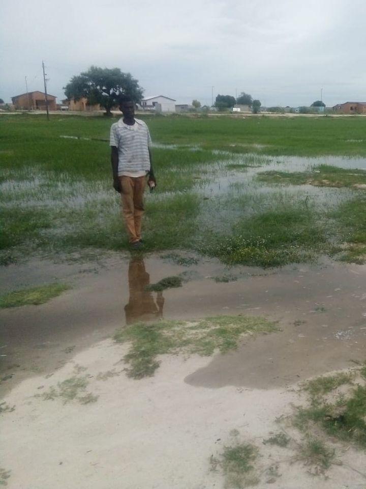 Oshakati villages possible flooding houses
