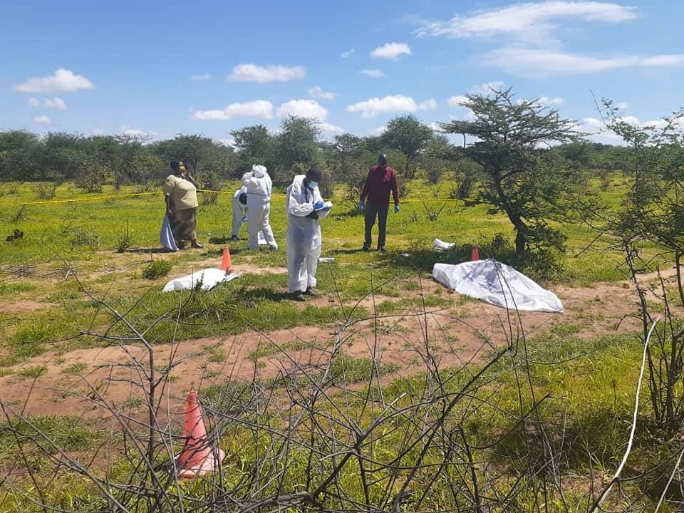 Mother baby murdered bodies dumped B1 bodies Zimbabwean woman Namibian born girl cattle