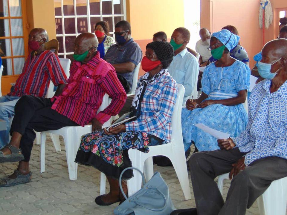 adhering COVID-19 measures Urban constituency councillor Leonard Negonga