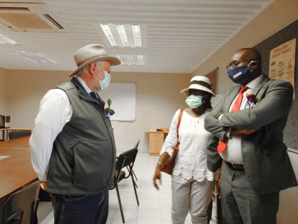 Farming communities Schlettwein Minister Agriculture Water Land Reform Calle Eenhana ministers region